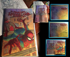 Amazing Spider-man 800 Sketch cover by comicsINC