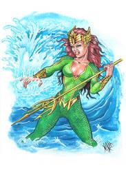 Mera watercolor sketch