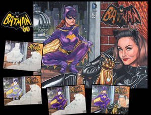Batman 66 Sketch cover