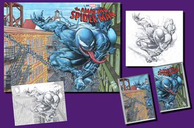 Amazing Spider-man Sketch cover of Venom