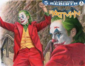 Batman Sketch cover featuring The Joker