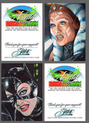 Personal Sketch cards
