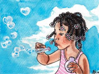 Heart Bubbles by sohalia