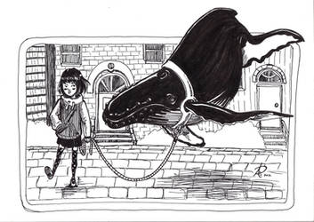 Sky whale by sohalia