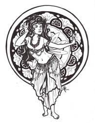 Bellydancer by sohalia
