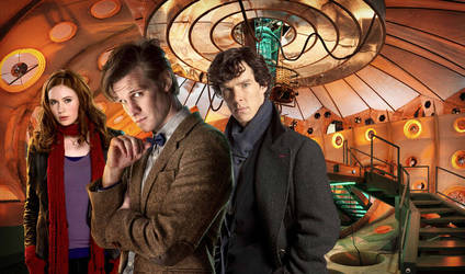 Doctor Who And Sherlock WP