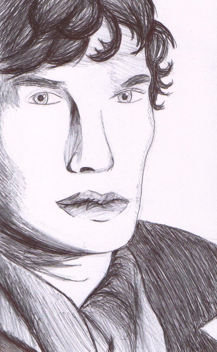 sherlock drawing by drawingdream fan art traditional art drawings    Bbc Sherlock Drawing