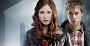 Doctor Who S6WP - Amy and Rory by drawingdream