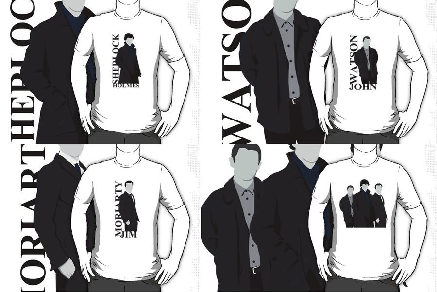 Sherlock tops by drawingdream