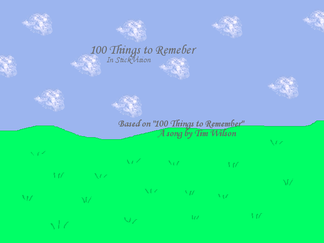 '100 Things to Remember' by Dr-Morph