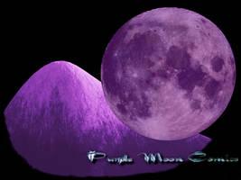 Purple Moon Comics Logo by Dr-Morph