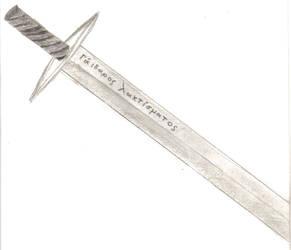 Pallas's Sword by Dr-Morph