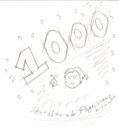 1000 Page views by Dr-Morph