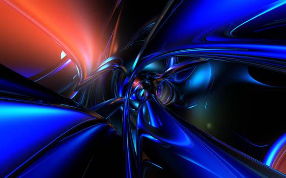 Blue Retro