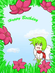 Skymin Birthday Card by Ninja-Girl15