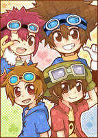 Goggle Boys by Well-Mon