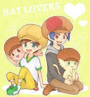 Hat Lovers by Well-Mon