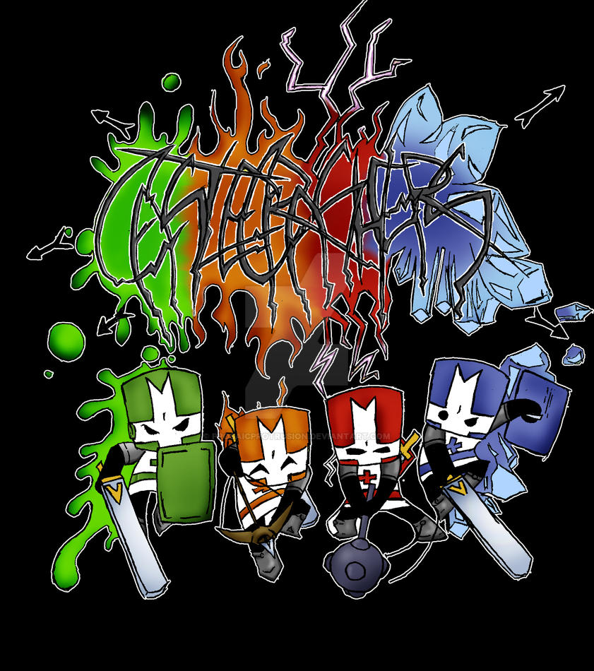 castle crashers shirt 1 by ProsaicProtrusion