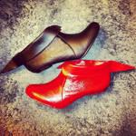 Custom Harley Quinn shoes