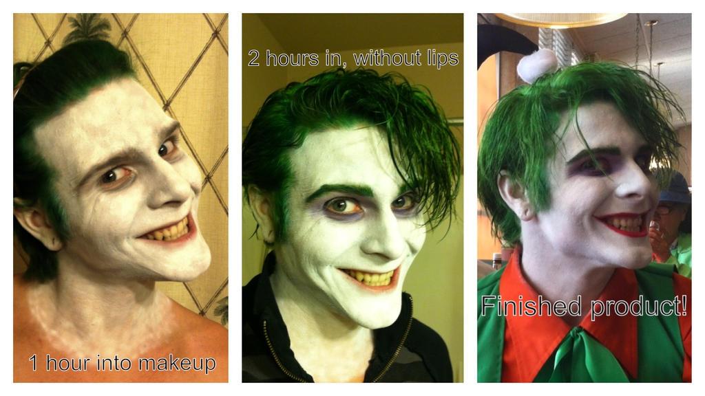 Joker makeup tutorial