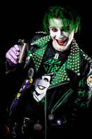 Punk rock joker by SmilexVillainco