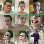 Smilex Joker makeup steps