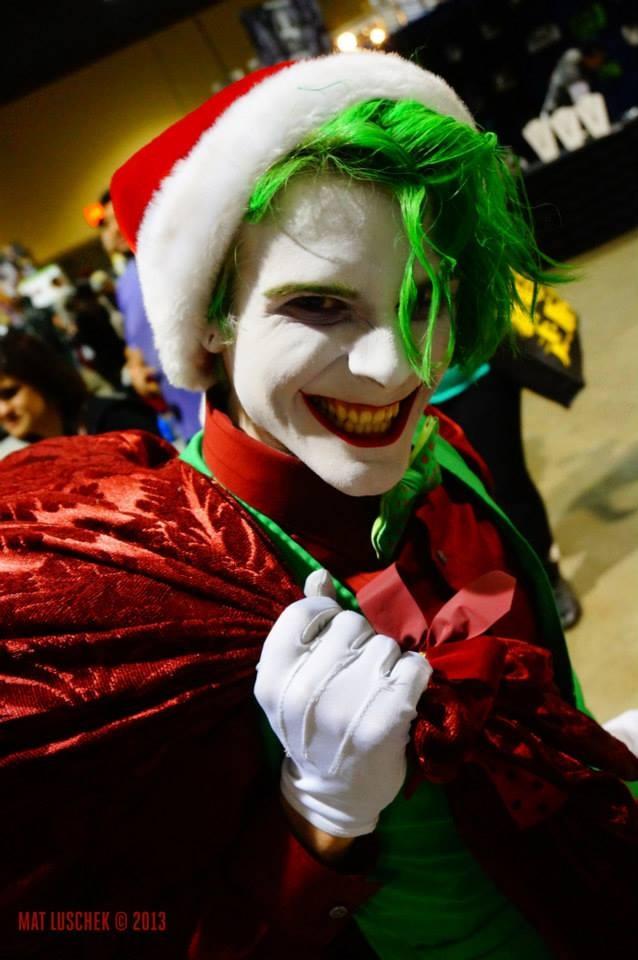 Christmas Joker by SmilexVillainco on DeviantArt