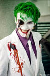 Smilex on Dark Knight returns joker