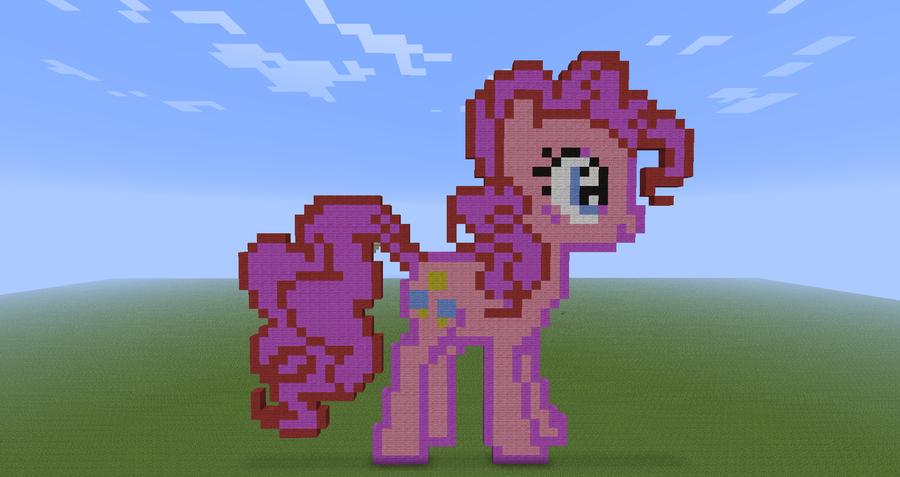 Как сделать пони из блоков