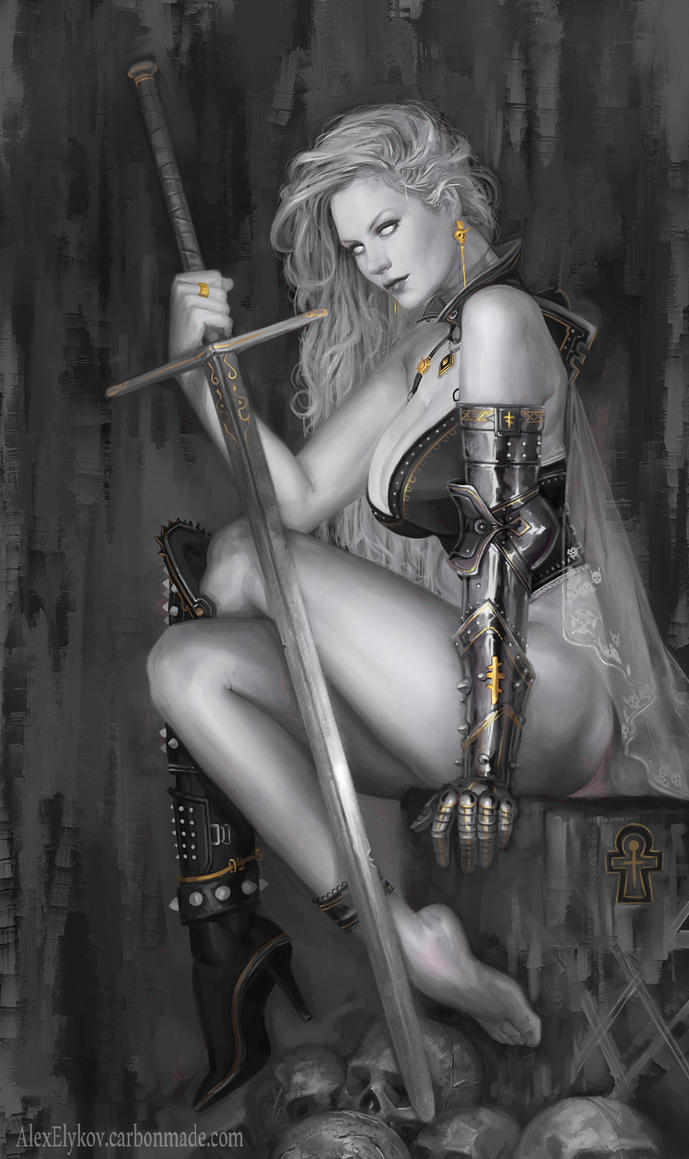 Lady Death by Svenechoff