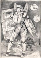 Medic - Lt. Morales by Svenechoff