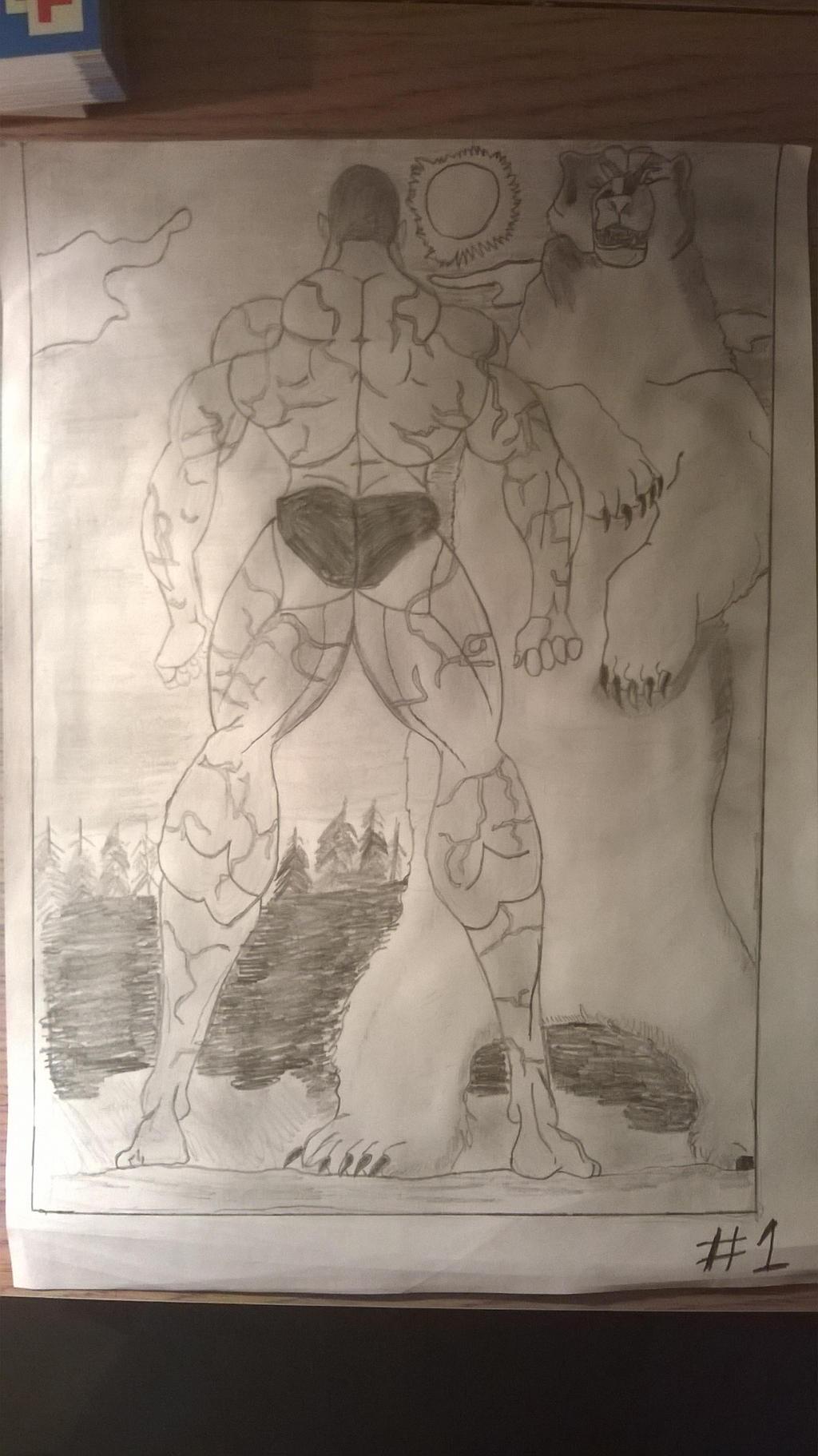 Grappler Baki* Jack Hanma vs Polar Bear page 1 by
