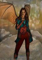 Elleara the Half Devil by Direwrath