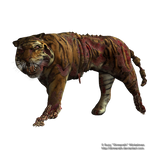 Undead Tiger png 2