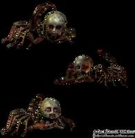 Creepy Doll things png stock by Direwrath