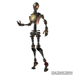 Robot png stock 1