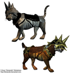 Armored Cat png stock 1