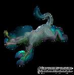 Fantasy Oriental Unicorn png Stock Water