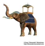 Elephant Parade 1 Png Stock