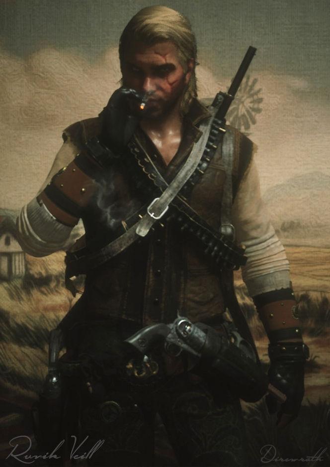 Red Dead Redemption online character Ruvik Veill