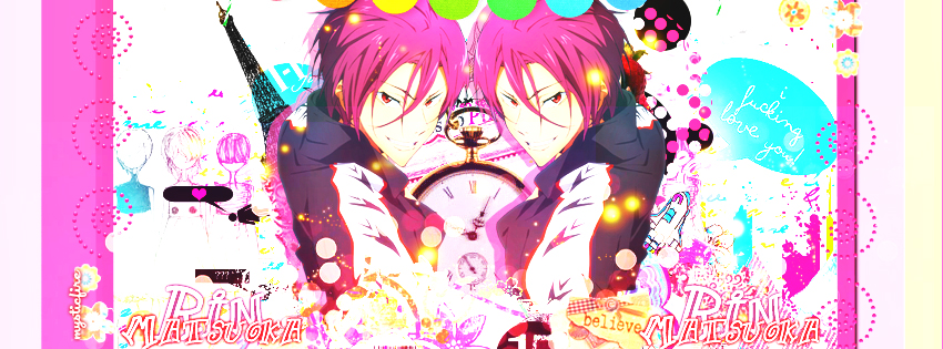 Free! Matsuoka Rin by MegaBleachy