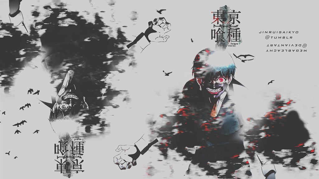 Tokyo Ghoul Wallpaper 1366x768 By Megableachy On Deviantart
