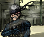 MGS4: Old Snaketch