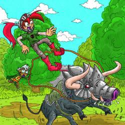 Corey vs War Boar