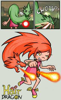 HairDragon: Fire Mode