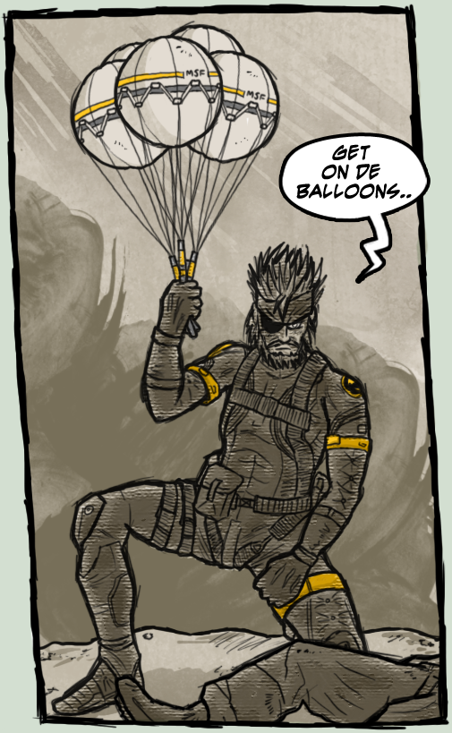 MGS5 Peace Walker: Recruitment by luckettx