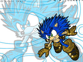 Re-Sonic Wallpaper by luckettx