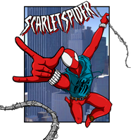Scarlet Spider by luckettx