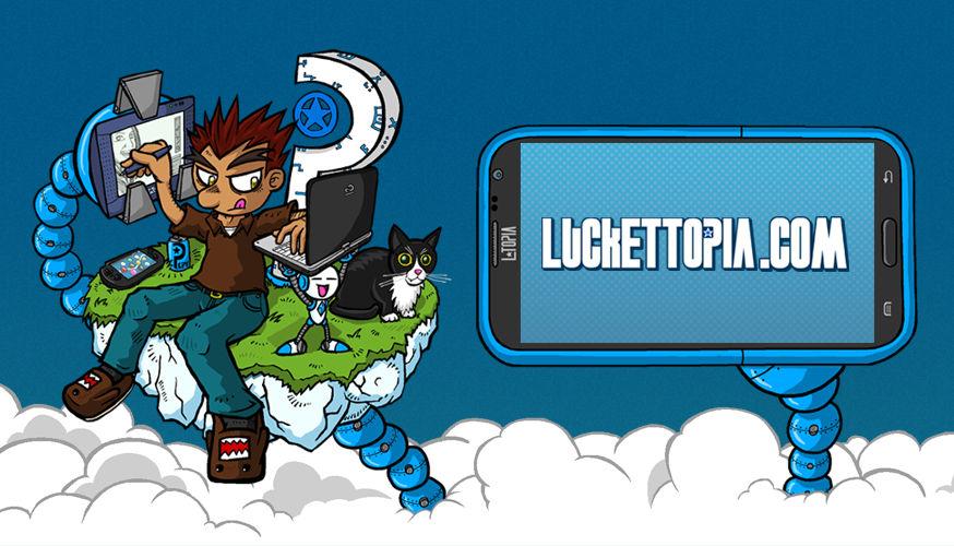LUCKETTOPIA 3.0 Website now live!