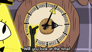 Bill Cipher Soon O' Clock